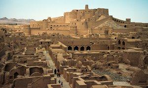 The Arg-e Bam citadel, Bam, Iran.