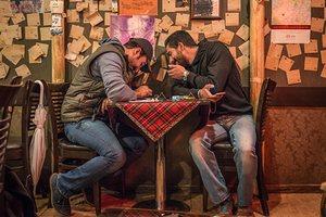 Cafe Kooche in the Gheytarieh neighbourhood, Tehran