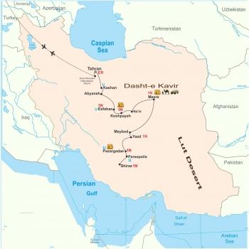 发现伊朗旅游