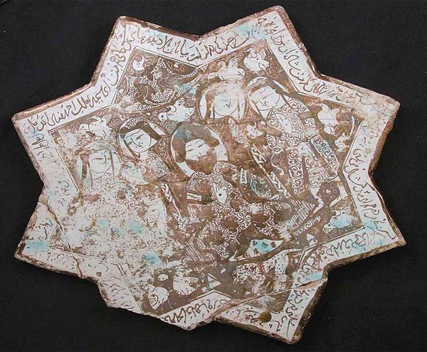 Luster Star-Shaped Tile