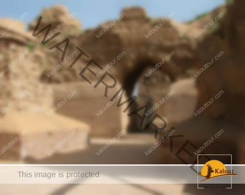 Ruins of Azar-Goshansb fire temple