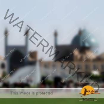 A View of Imam Khomeini Mosque in Isfahan