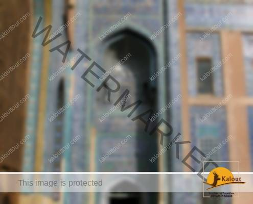 Entrance to Sheikh Safi al Din Shrine in Ardabil