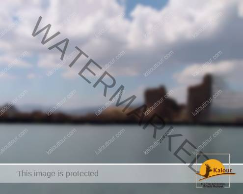 Lake of Takht-e Soleyman In the Middle of the Archaeological Site