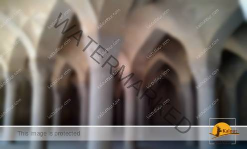 Inside Shabestan of Vakil Mosque in Shiraz
