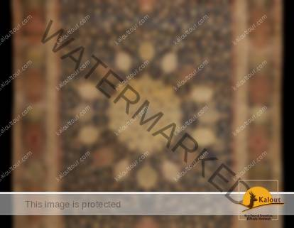 The famous Ardabil Carpet is in Victoria & Albert Museum