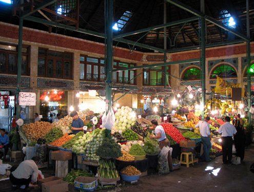 Fruit Market at Tajrish Local Bazaar, North Tehran