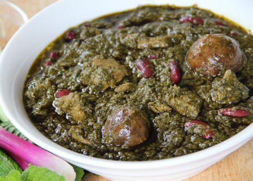 ghormeh-sabzi-dish
