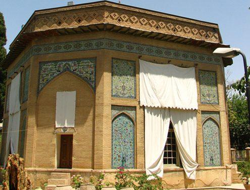 Pars Museum of Shiraz inside Nazar Garden