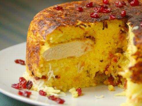 tahchin-Pesrian-rice-cake