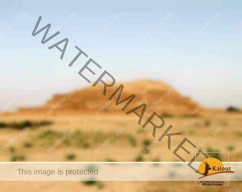 General view of Tchogha Zanbil Elamite Temple