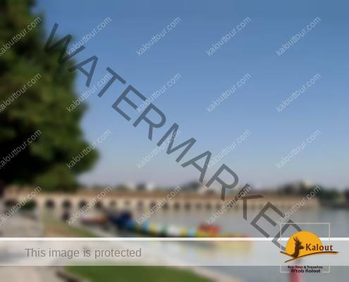 Si-o-Se Pol, a Safavid bridge in Esfehan