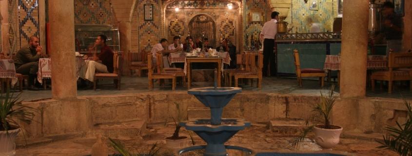 kerman tea house by travfotos