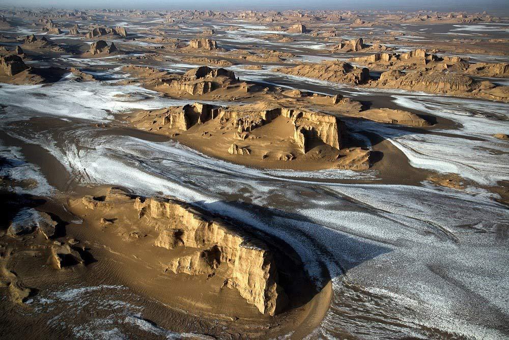 Lut Desert, Kalouts