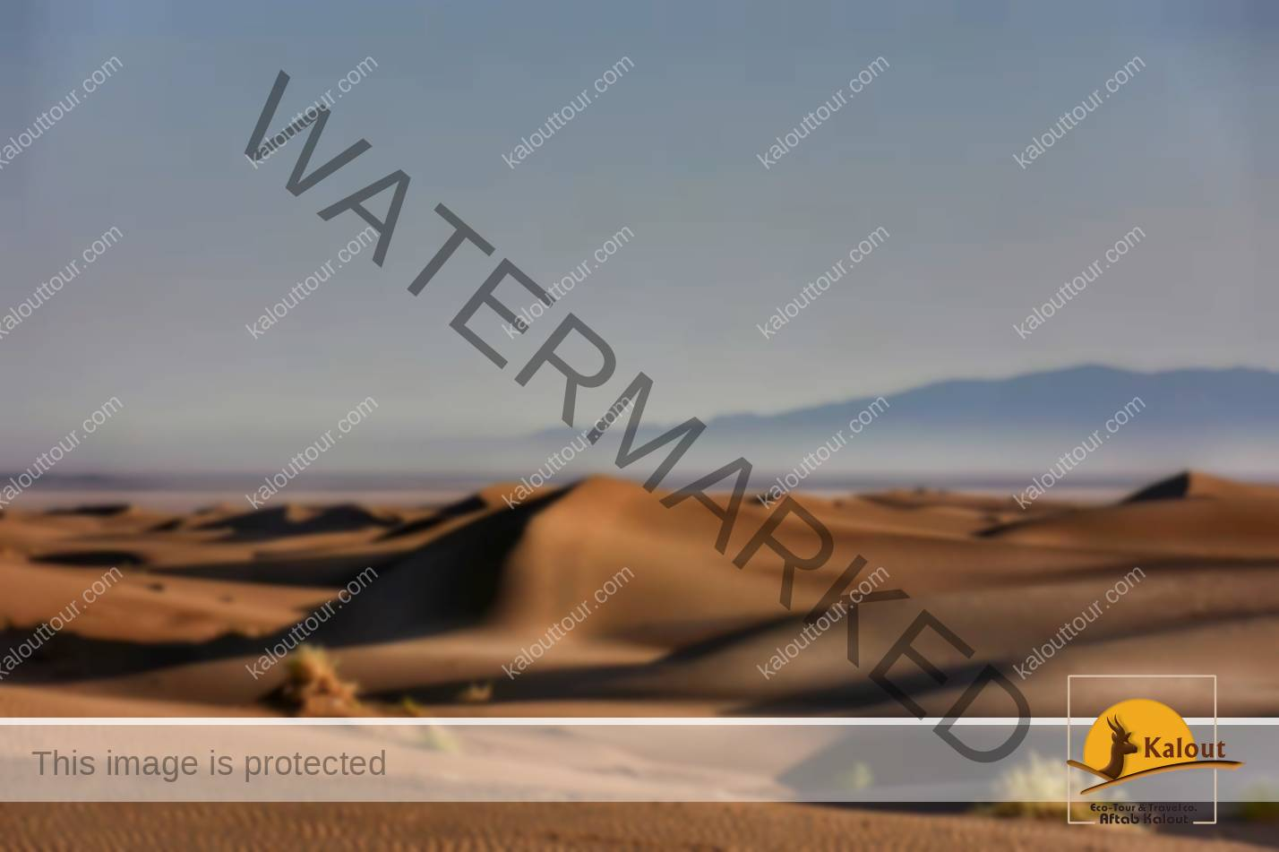 Dasht-e Kavir, sandy dunes