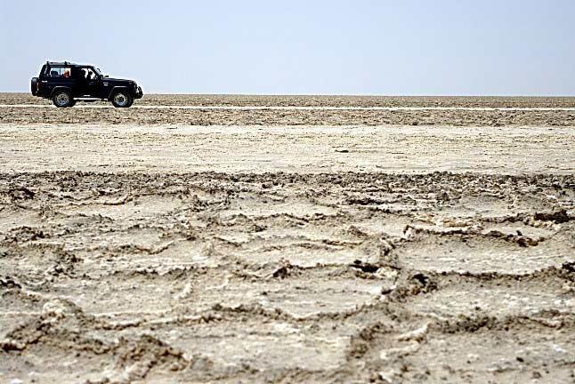 Salt River, Maranjab Desert