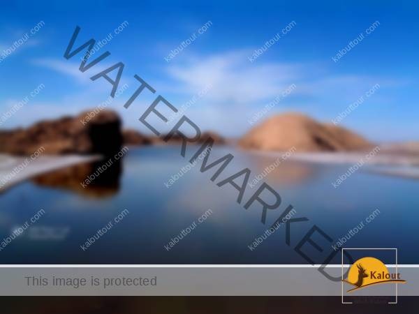 Lut Desert, Salt River (Rood Shoor)